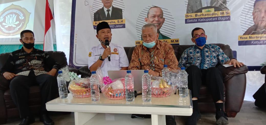 Diskusi DOB Karya Katar Kab. Bogor, Dukung Percepatan Bogor Barat