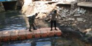 Antisipasi Bencana Banjir, Binmas Duri Kosambi Bersihkan Saluran Air