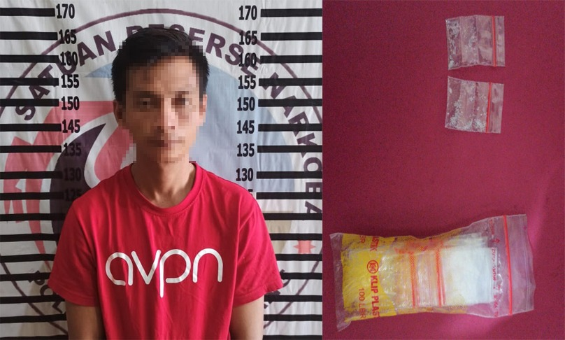 Pengedar Narkotika di Kelurahan Menggala Kota Tertangkap Polisi
