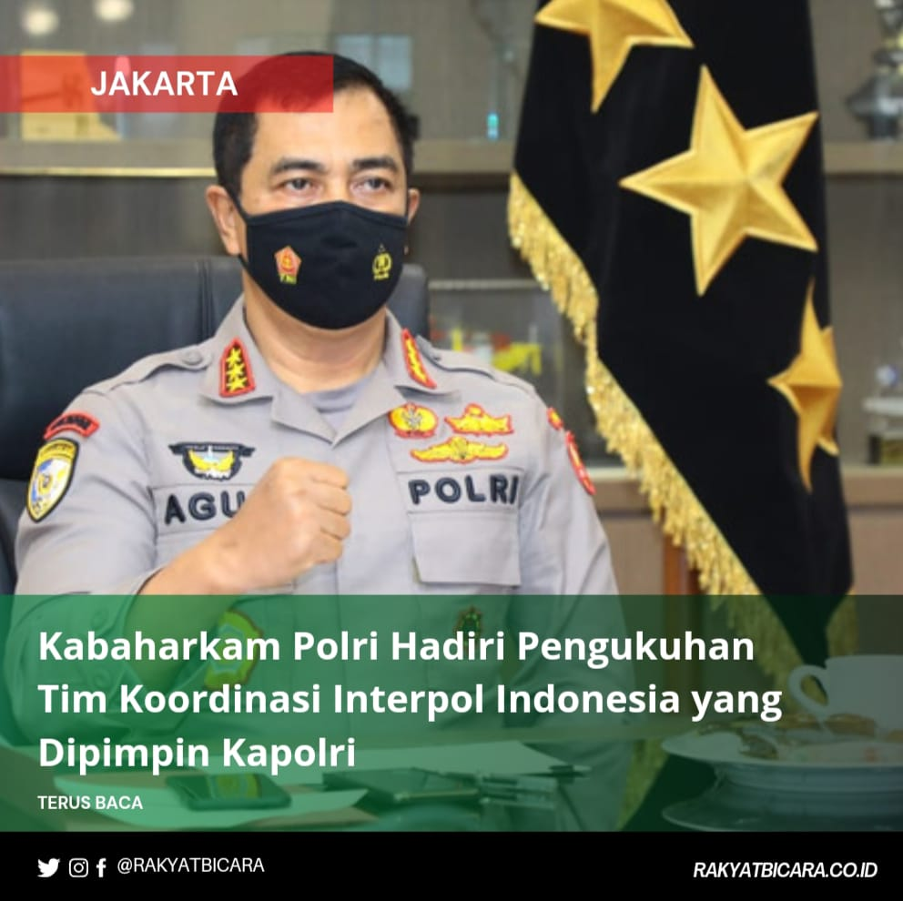 Kabaharkam Polri Hadiri Pengukuhan Tim Koordinasi Interpol Indonesia yang Dipimpin Kapolri