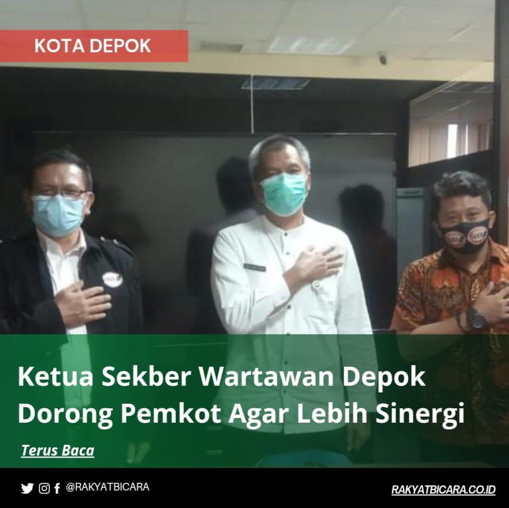 Ketua Sekber Wartawan Depok Dorong Pemkot Agar Lebih Sinergi