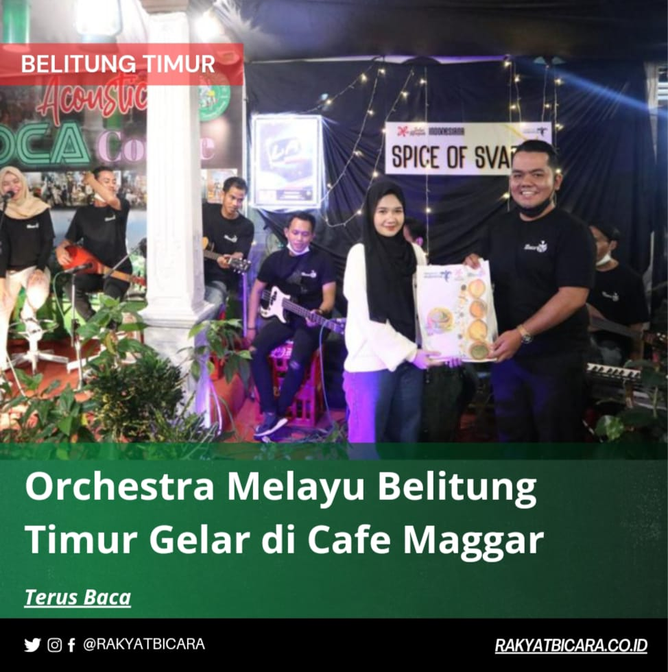 Orchestra Melayu Belitung Timur Gelar di Cafe Maggar