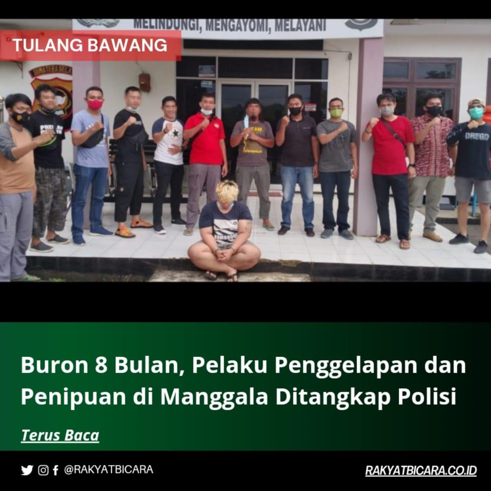 Buron 8 Bulan, Pelaku Penggelapan dan Penipuan di Manggala Ditangkap Polisi