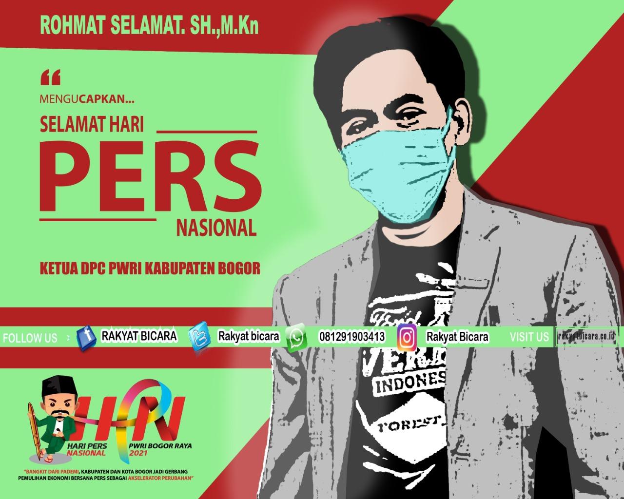 Ketua DPC PWRI Bogor : Instansi Pemerintah Harus Bersinergi Dengan Wartawan/Pers