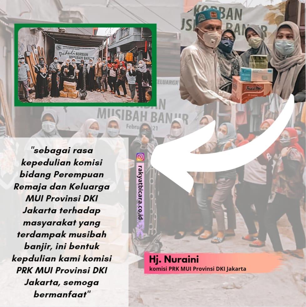 Peduli Banjir, MUI DKI Jakarta Serahkan Bantuan Logistik