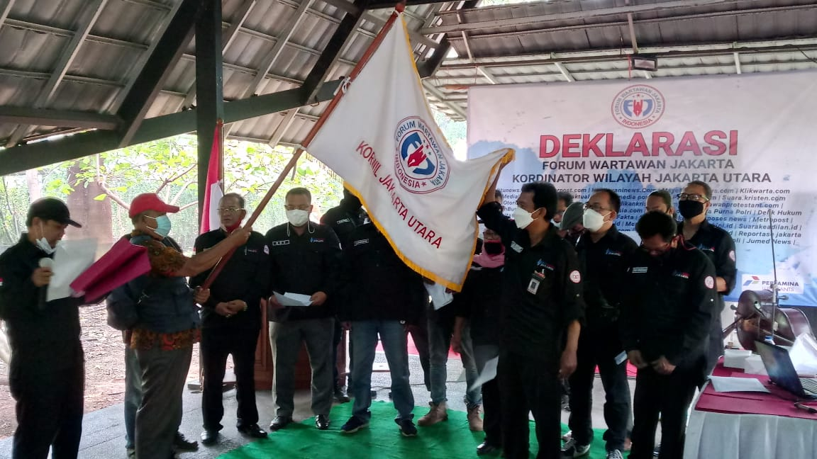 Ketum FWJ, Djuli Asnawi Resmi Dilantik Korwil Jakarta Utara Periode 2021 – 2024