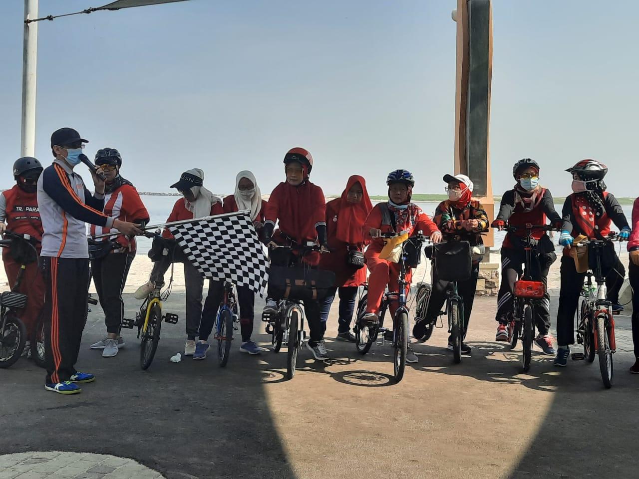Launching Komunitas Sepeda Sehat JIC di Ancol