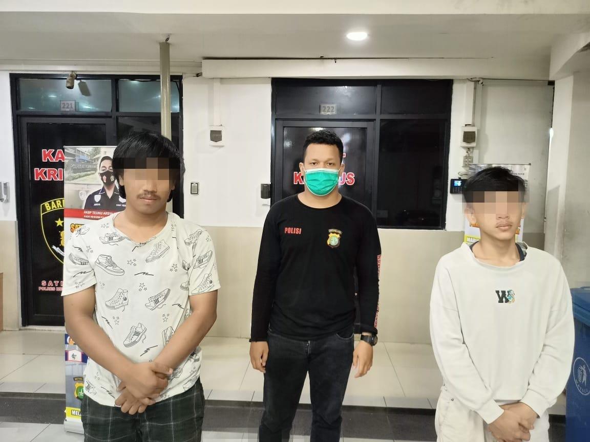 TPP Polres Metro Jakarta Barat Amankan 2 Pemuda Dengan Peran Berbeda