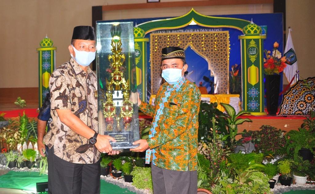 Kecamatan Manggar Kembali Sabet Juara Umum STQH