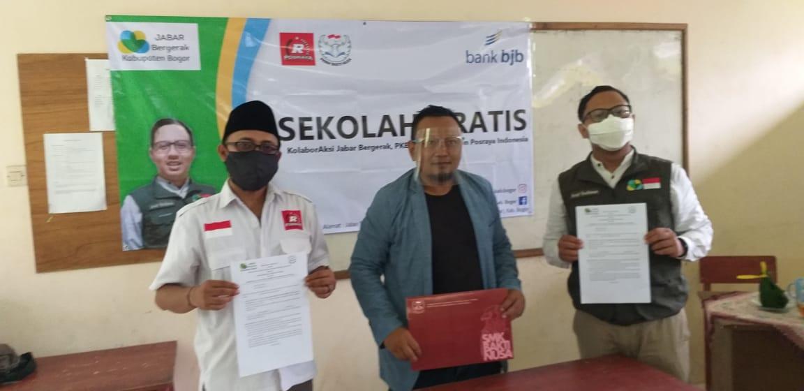 Jabar Bergerak, Posraya Indonesia Bogor Buka Sekolah Gratis
