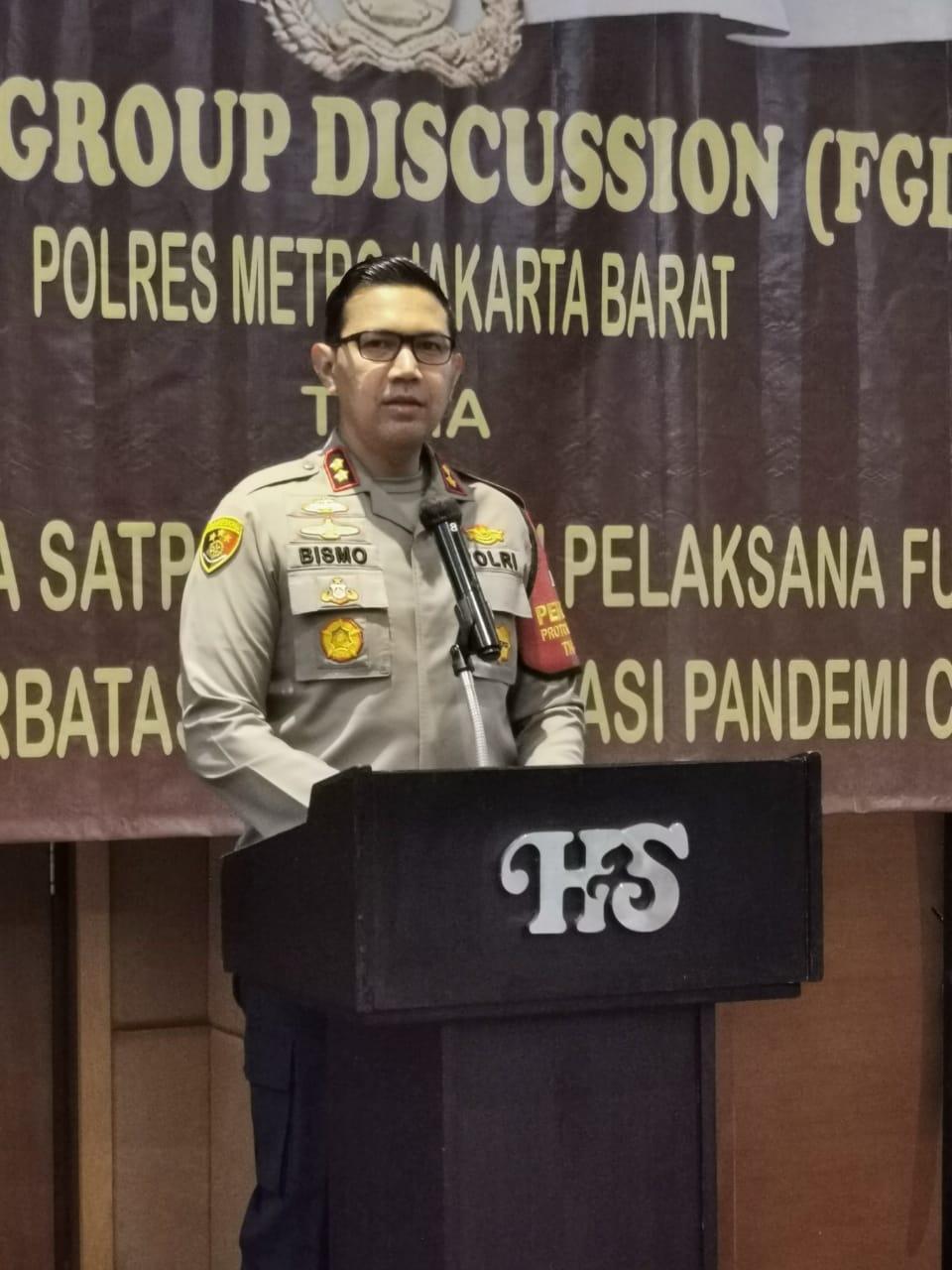 Polres Jakarta Barat, Fungsi Satuan Pengaman Menjadi Garda Terdepan