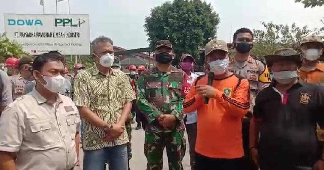 Musyawarah Dampak Bau PT PPLI, Camat Instruksikan Kades Mendata Warganya