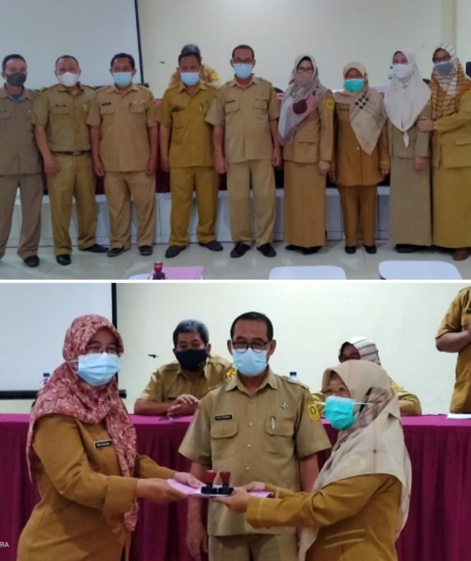 Sertijab Kepala Sekolah Dilingkungan Pendidikan Kecamatan Cibinong