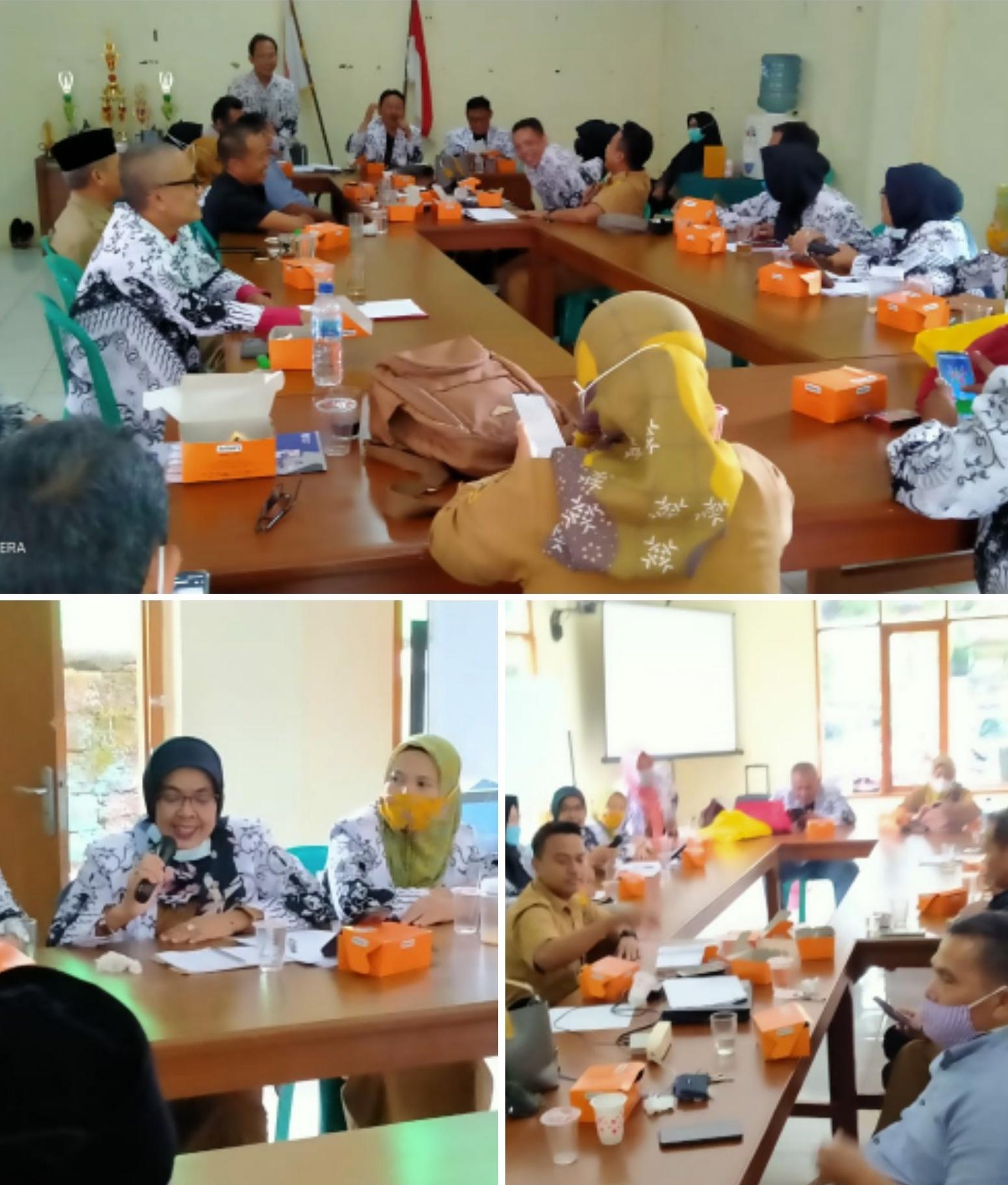 Evaluasi Kinerja Pengurus PGRI Cabang Kecamatan Cibinong Rapat Pleno II