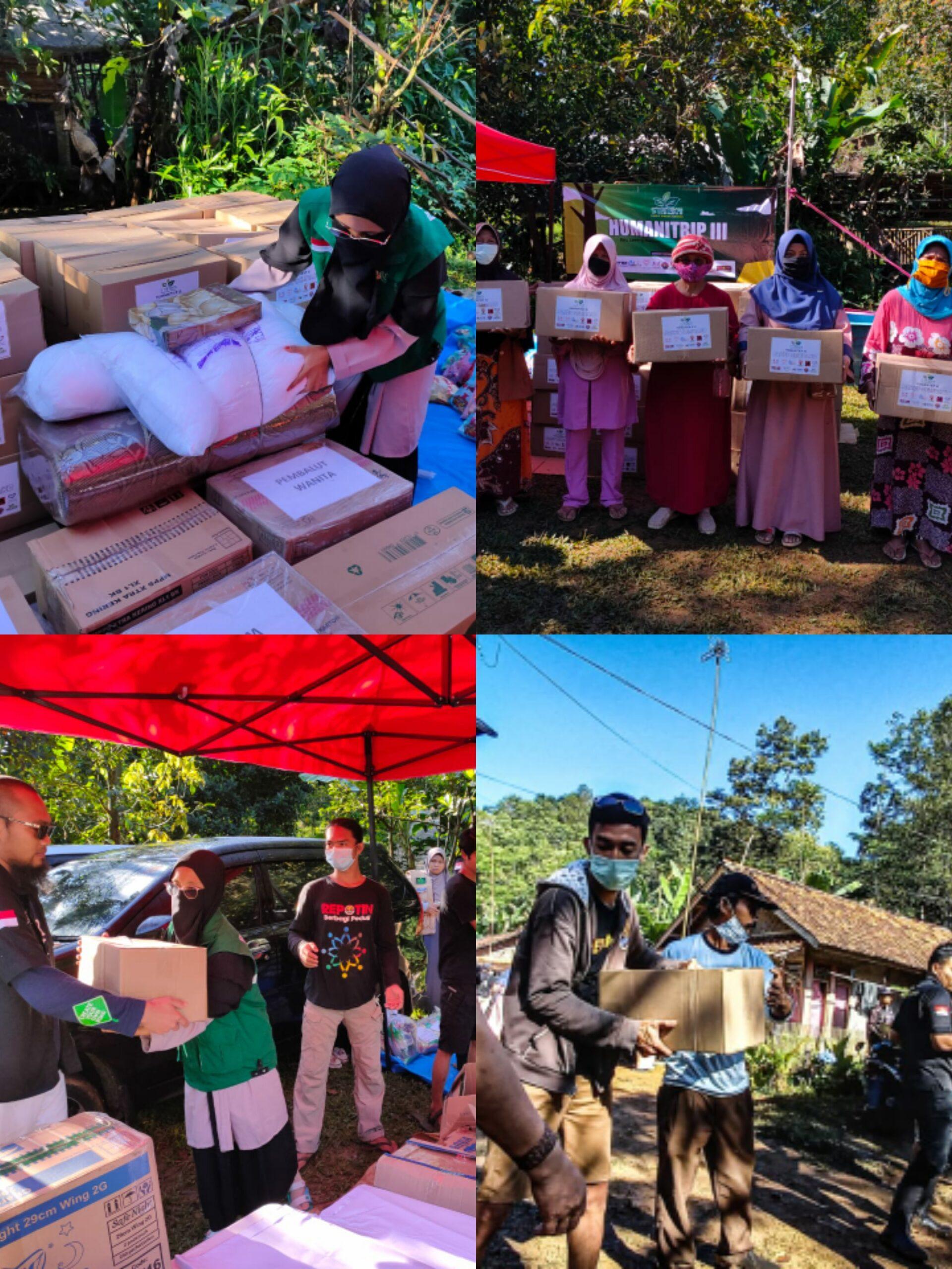 Perjalanan HUMANITRIP III, Salurkan Bantuan Lalui Jarak Lokasi