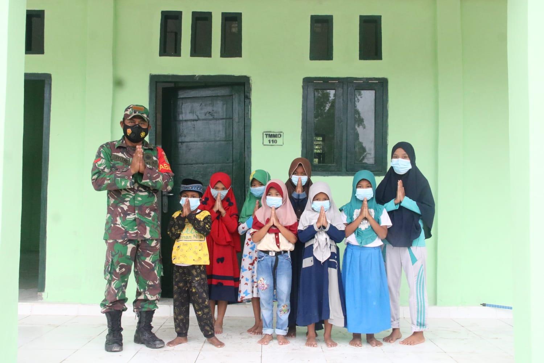 Program TMMD Ke-110, Guru Ngaji TPA Turut: Terima Kasih Pak TNI