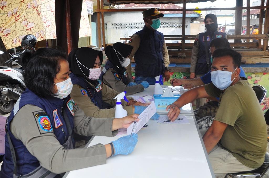 Dalam Operasi Yustisi Tim Gabungan, 68 Orang Pelanggar Terjaring