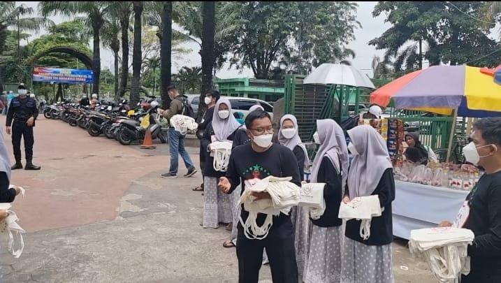 Jelang Ramadhan, BKN Bagi Kantong Belanja Gratis Non Plastik