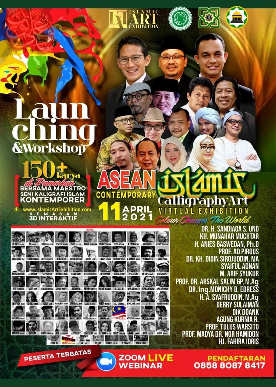 Sambut Ramadhan, 92 Seniman ASEAN Gelar Pameran Kaligrafi Islam Virtual