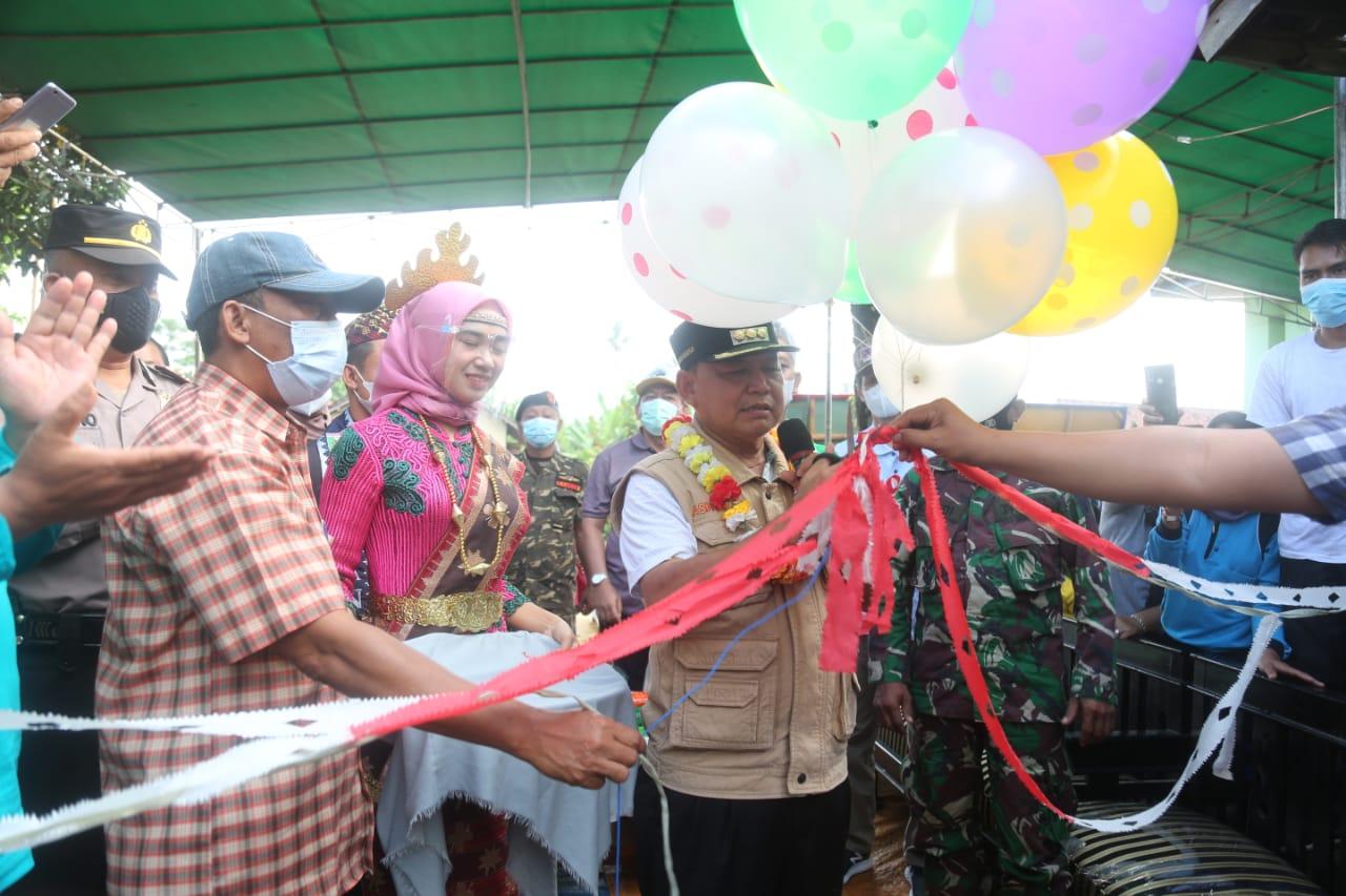 Pasar Kreatif Rumah Fosil Diresmikan Dawam Bupati Lampung Timur