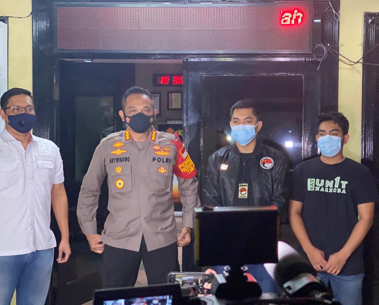 Sat Narkoba Polres Metro Jak-Bar Tangkap Aktor Pesinetron sekaligus Model Terkait Penyalahgunaan Narkotika