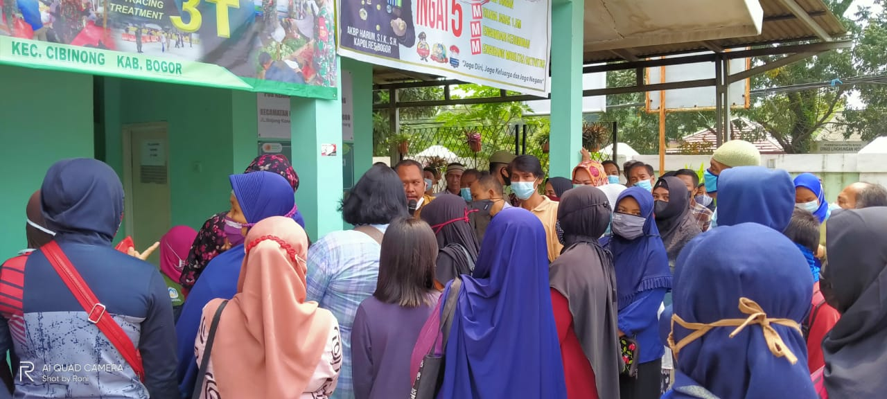 Kelurahan Cibinong Salurkan BST Tahap 3 Dan 4
