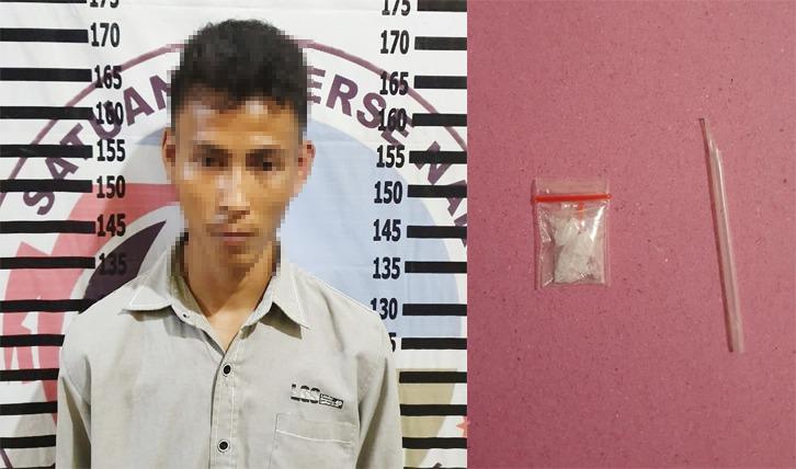 Edarkan Narkotika di Kampung Pasiran Jaya, Pemuda Asal Tanah Merah Ditangkap Polisi