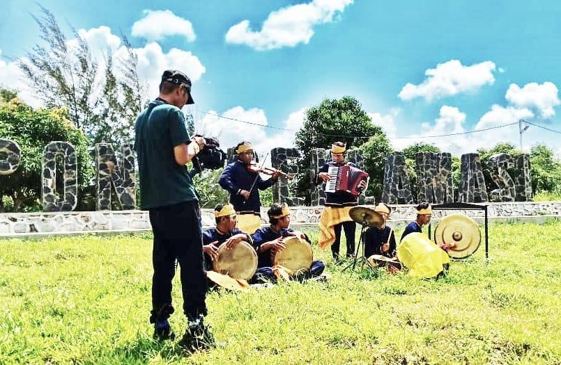 Campak Belitong Ikuti Ajang Berbalas Pantun Nasional