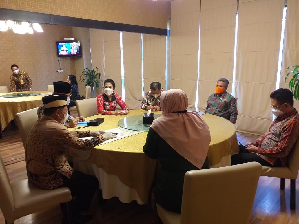 Rapat Koordinasi Bersama Kepala BKN-RI Diikuti Bupati Lampung Timur