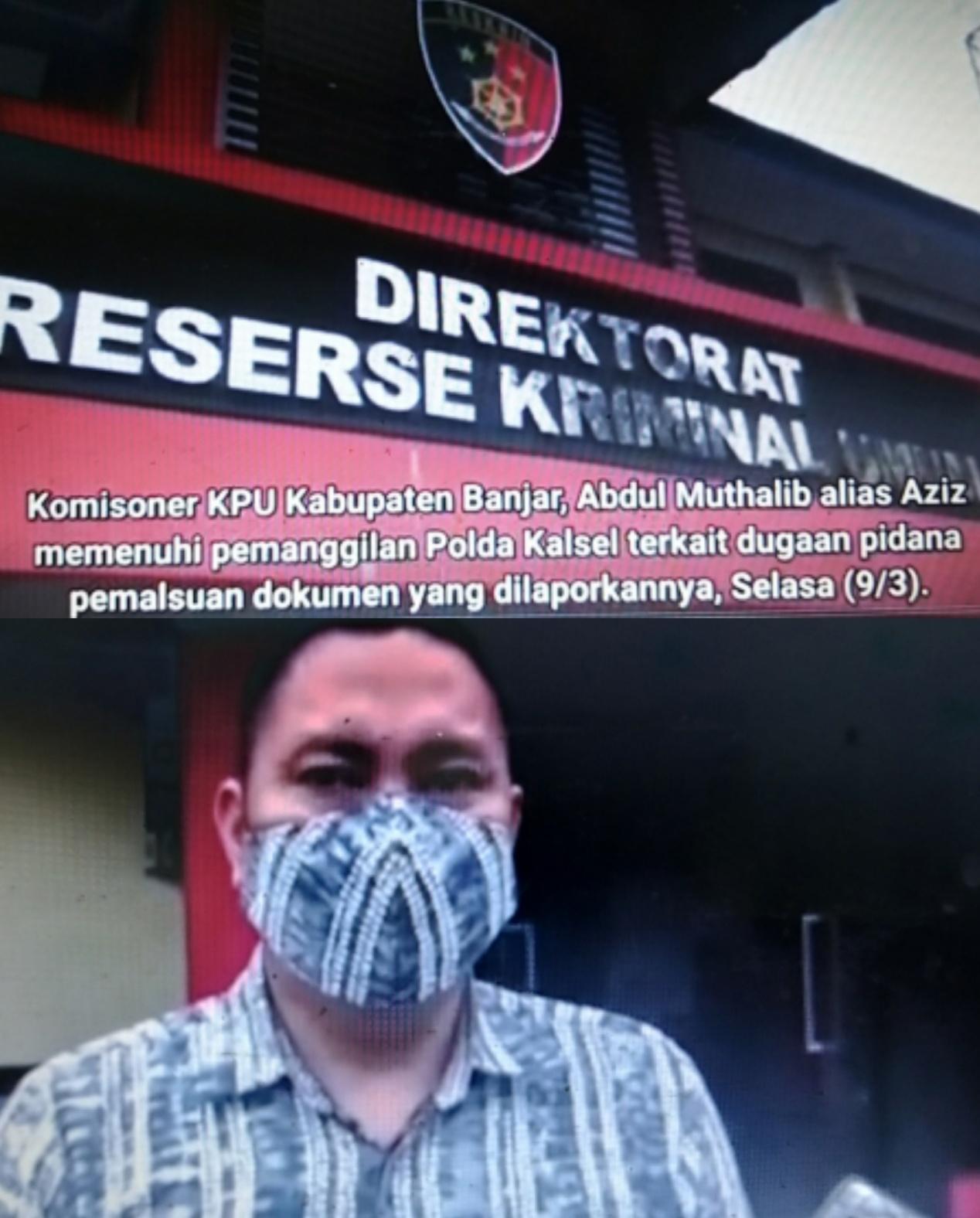Naik Status Penyidikan, Polda Kalsel Serius Tangani Kasus Pemalsuan Dokumen Pilgub Kalsel
