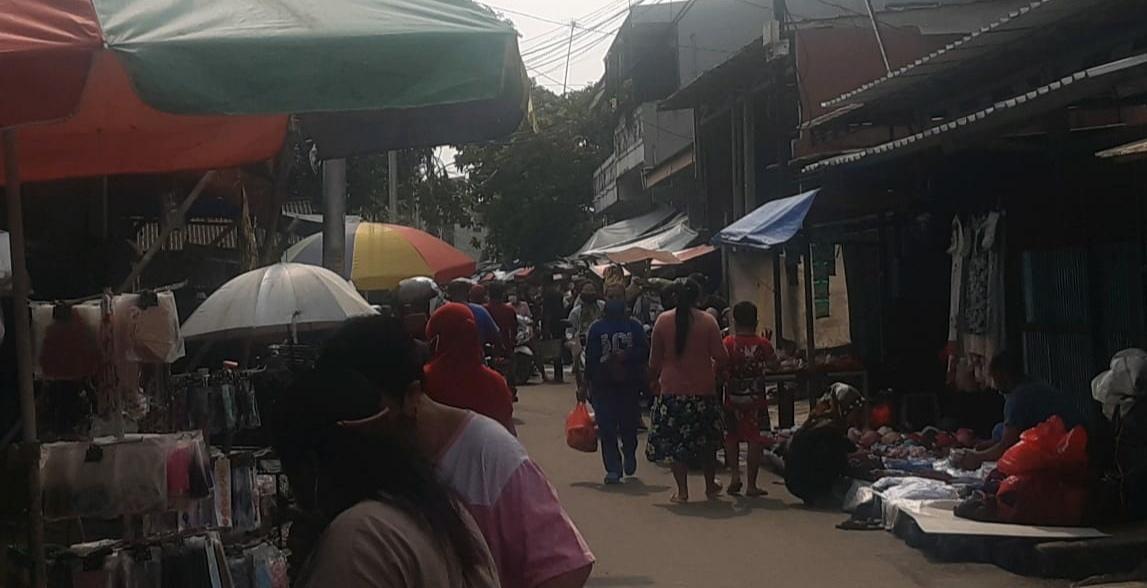 Jelang Lebaran Marah PKL di Jakut Tak Patuhi Prokes PSBB Covid-19 di Duga Aman Dari Aparat