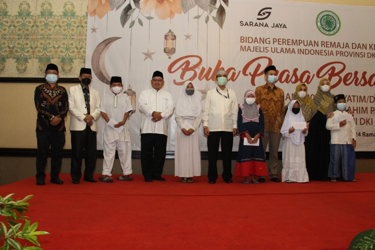 MUI DKI Jakarta santuni 100 Anak Yatim