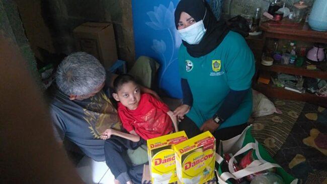 Pendamping ABK Tajurhalang, Sampaikan Penyaluran Bantuan Kepada ABK & Distabilitas