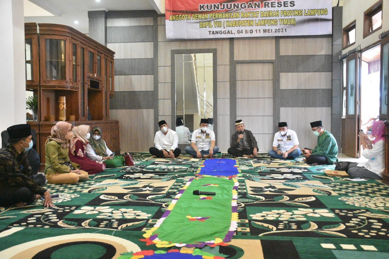Audensi Anggota DPRD Diterima Bupati Dalam Rangka Reses Dapil-VIII