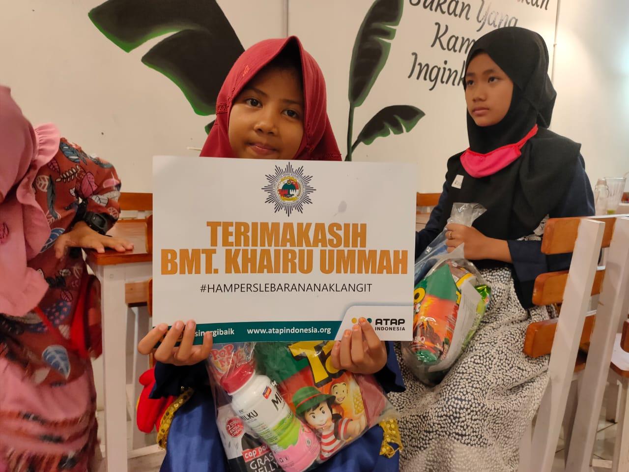 Atap Indonesia Berbagi Hampers Lebaran