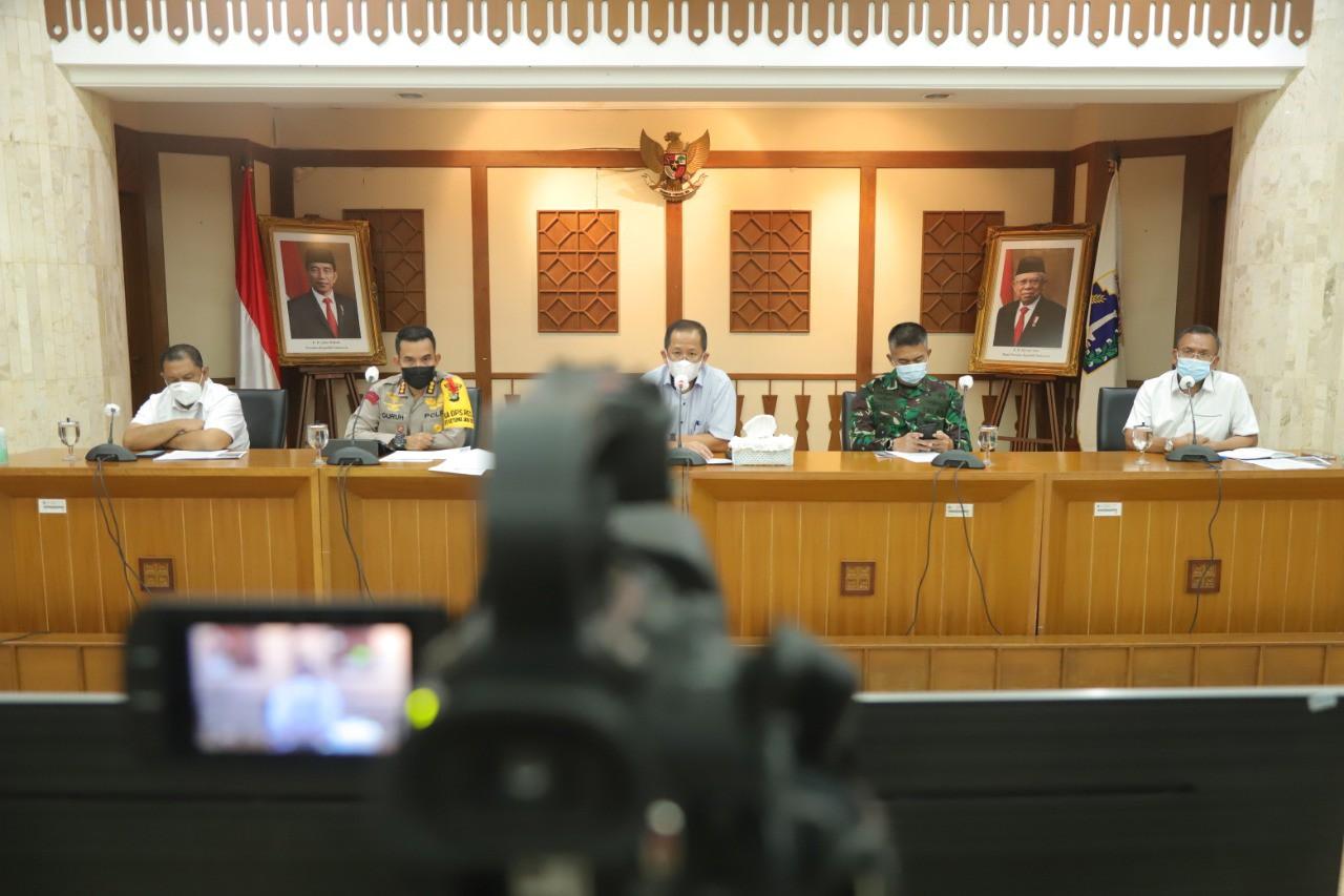 Walikota Jakut Gelar Rapat Antisipasi Arus Balik Idul Fitri 2021