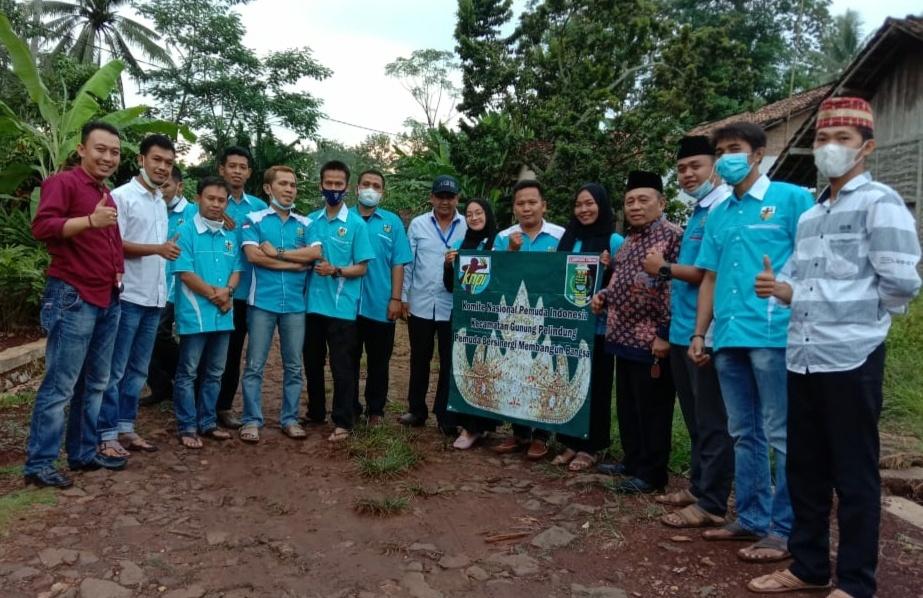 PK KNPI Gunung Pelindung Gandeng PT. PJM Dan PAC Ansor Berbagi Sembako