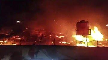 41 Narapidana Tewas Dalam Kebakaran Lapas Tangerang,diduga Akibat Arus Pendek Listrik