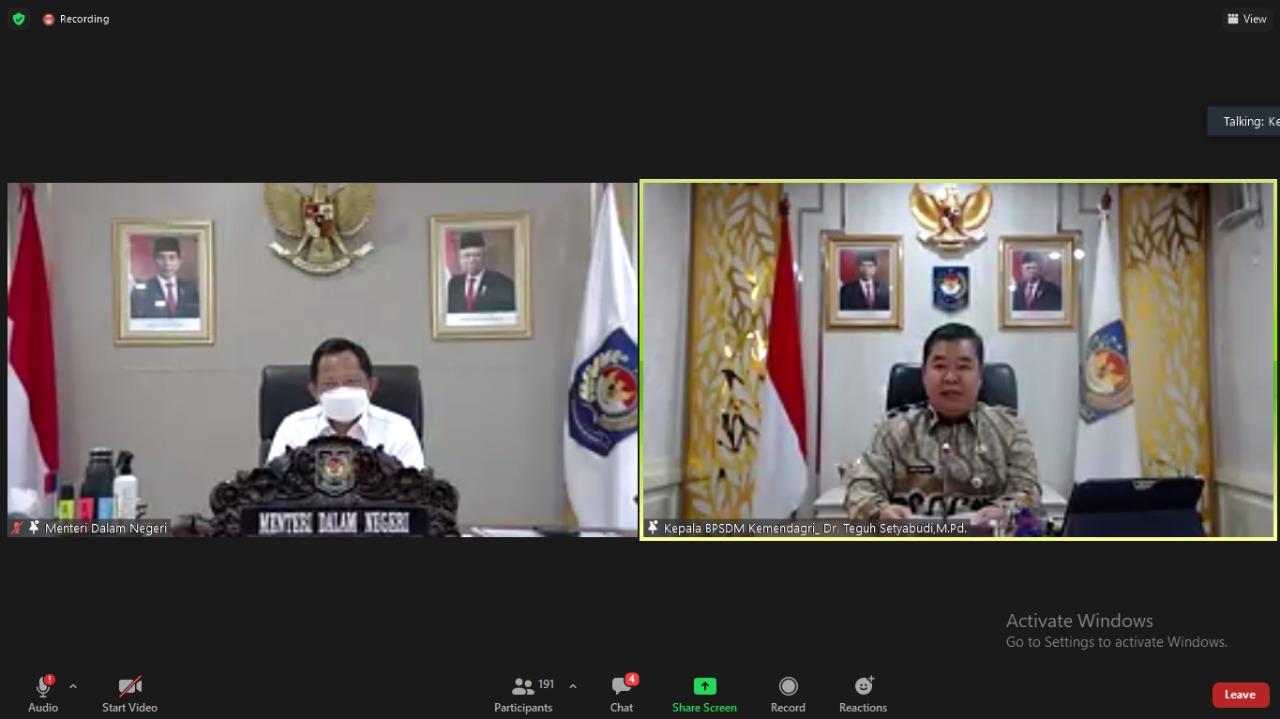 183 Kepala Daerah 'Hasil Pilkada Serentak 2020' Ikuti Pembekalan Kepemimpinan Pemerintahan Dalam Negeri