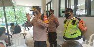 Polsek Kebun Jeruk Bersama 3 Pilar Monitoring Wilayah Pelaksanaan Kegiatan Serbuan Vaksinasi