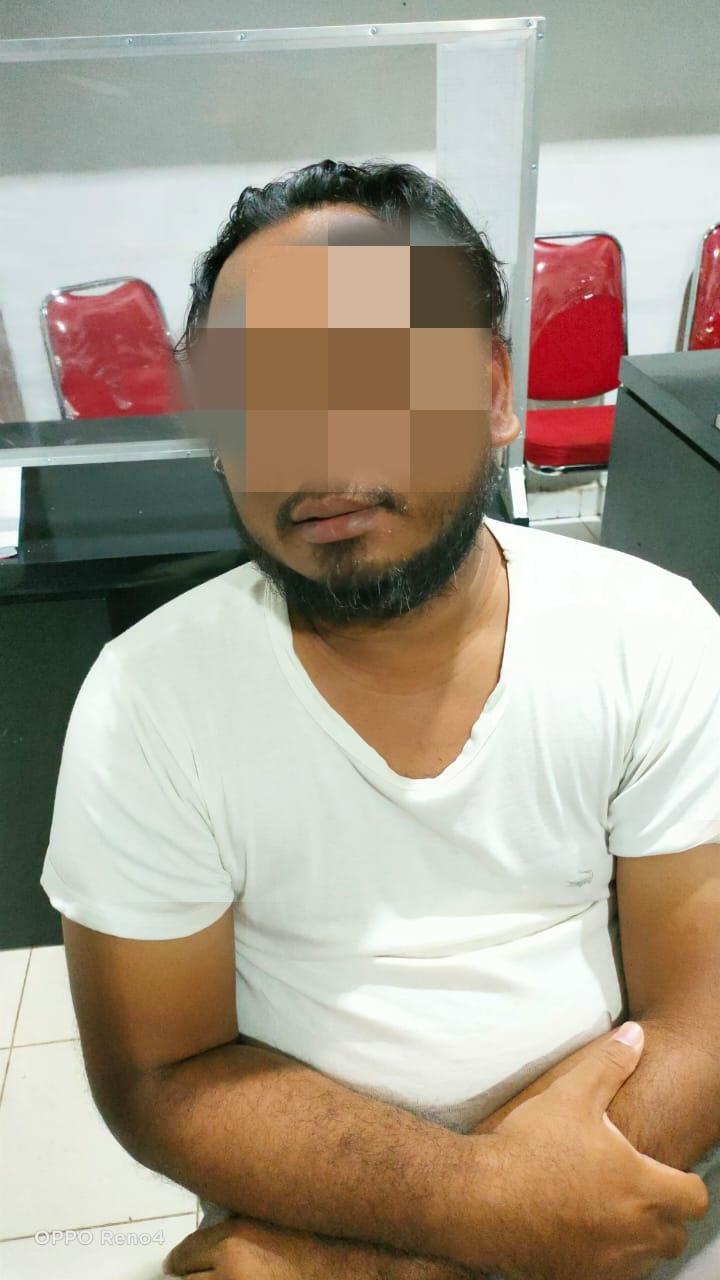 Dua Orang Terduga Pelaku Curat di Bekuk Tekab 308 Polres Lampura