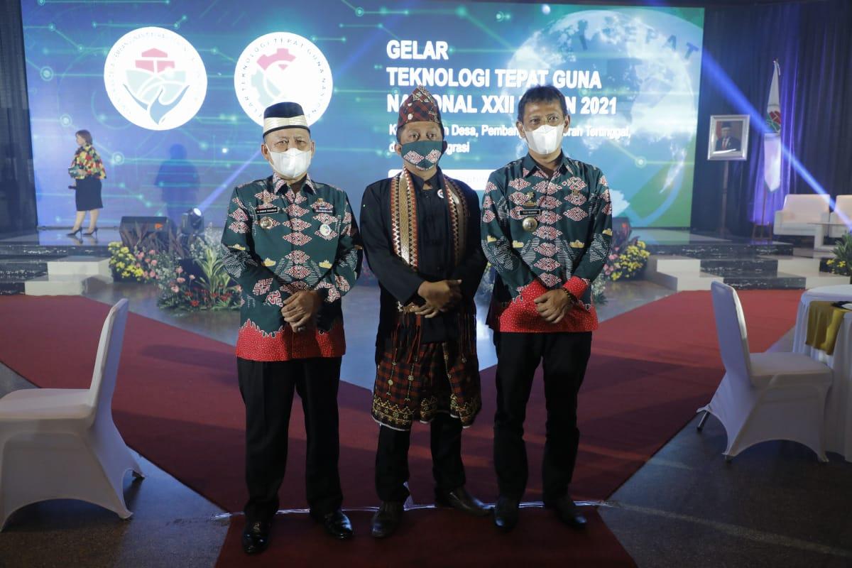 Bupati Terima Penghargaan Gelar TTG Nasional XXII Tahun 2021