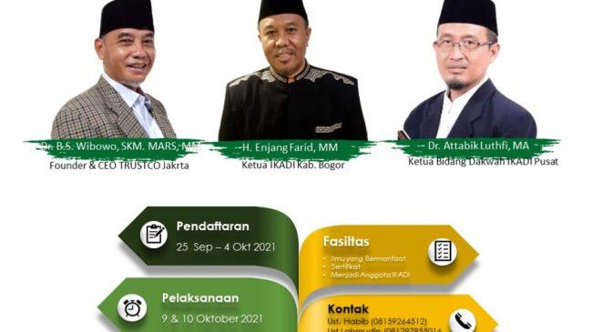 "IKADI Kabupaten Bogor Adakan Pelatihan ""DAI"""