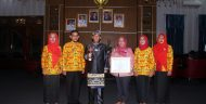 Kabupaten Lampung Utara Maraih Perhargaan Anugerah APE Ketegori Pratama