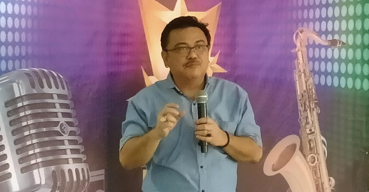 Hartono Anwar Apresiasi Lomba Menyanyi PGRI Cabang Cibinong