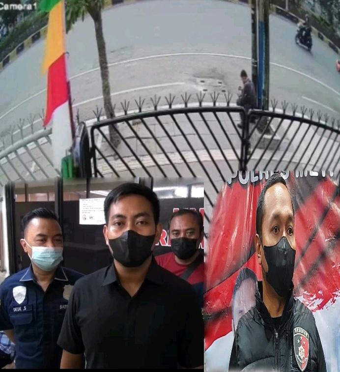 Viral Aksi Penjambretan di Medsos Akhir ini,Polres Metro Jakbar Amankan MS Pelaku Jambret Pesepeda